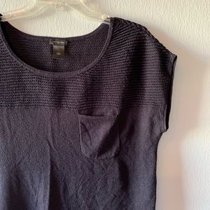 Ann Taylor pocket casual sweater size L